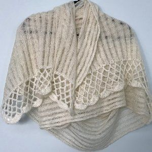 H&M LARGE KNITTED WINTER SCARF